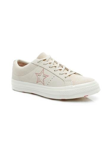 Converse Spor Ayakkabı Krem